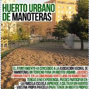 Huerto urbano Manoteras